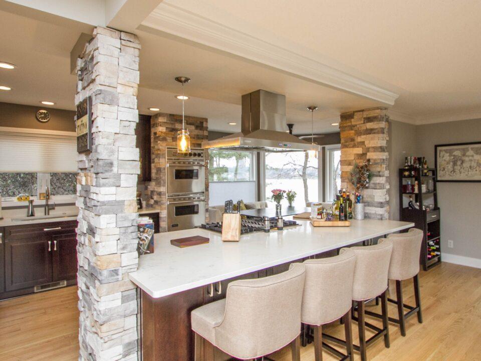 kitchen design in new home construction - custom home builder - toledo ohio - premier builders