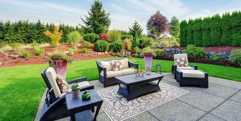 new home construction landscaping