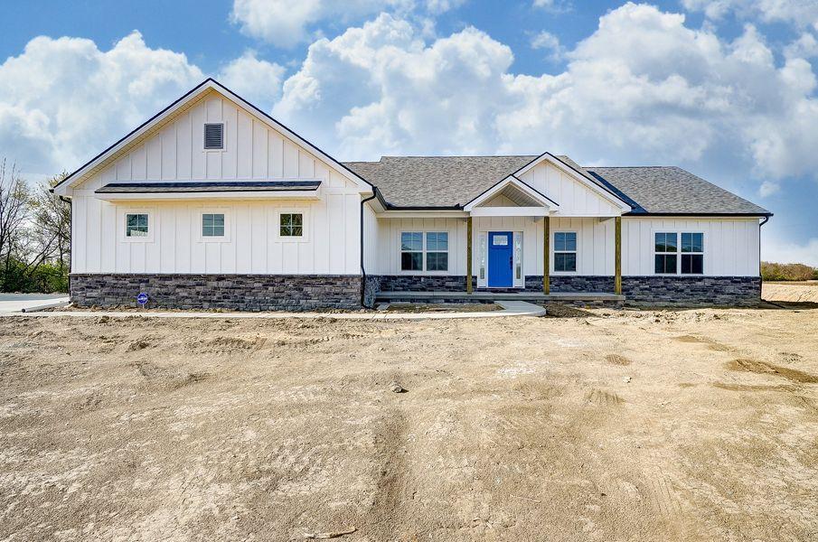 custom ranch style home - toledo ohio - premier builders